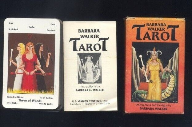 Barbara Walker 78 autod Tarosso Deck-Tarosso R
