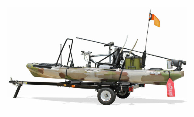 "Bike Kayak Utility Trailer 64"" crossbars - fits Yakima Thule Accessories Black"