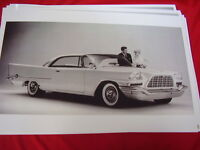 1957 Chrysler 300c Hardtop Big 11 X 17 Photo Picture