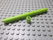 Lego 10 Runde hohle lime hellgrün Steine 1x1  3062b Set 7297 8114 7583 7586