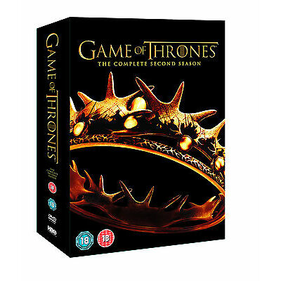 Game Of Thrones: Season 2 (5 Discs) (DVD) (C-18) HBO