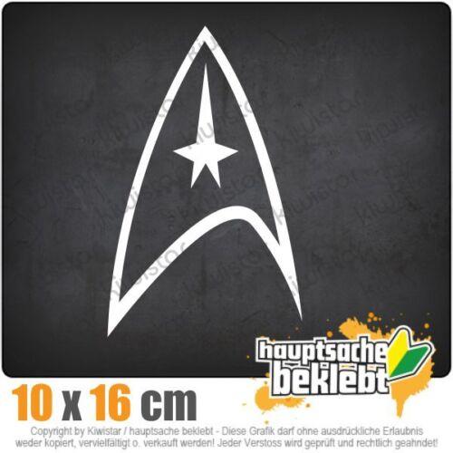 Starfleet insigne csf0676 10 x 16 cm JDM sticker autocollant