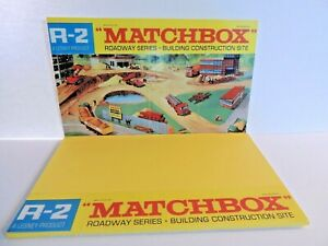 Matchbox-Lesney-Display-Roadway-Series-Building-Construction-Site