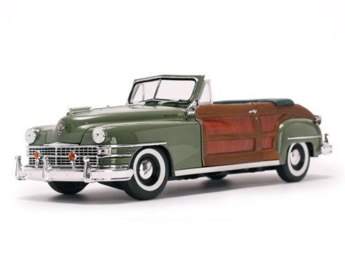 Sun Sun Sun Star 1 18 American Collectibles 1948 Chrysler Town & Country Diecast SS6142 cb4d1b