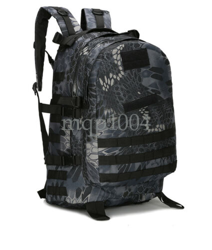 46L Sport Outdoor Military Rucksacks Tactical Molle Backpack Camping Hiking New