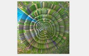 Aphex Twin Collapse Wall Hot Poster 16x16 24x24 30 Music Album Cover Y217