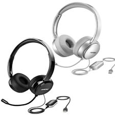 Mpow Wired USB Over-Ear Headphone Stereo Headset with Microphone for PC Laptop