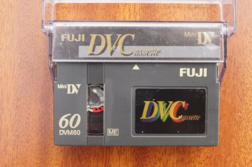 5 X Alta Calidad FUJI DVM-60 Mini DV Digital Video Camcorder las cintas//cassettes