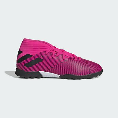 adidas NEMEZIZ 19.3 TF J Kids Shock PinkCore Black F99944 Turf Soccer Shoes | eBay