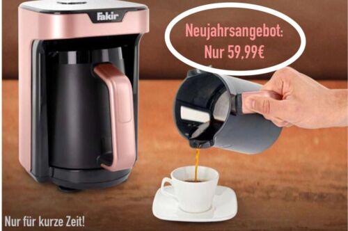 Fakir Café Moka Machineturc Machine à caféRose