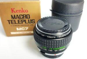 Kenko Macro Teleplus MC7 X Olympus Om
