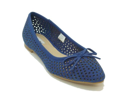Not Rated Blue ON THE CUFF Flats Women/'s Shoes