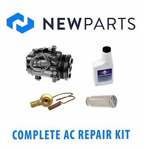 geo metro 1995 1997 complete ac a/c repair kit with new