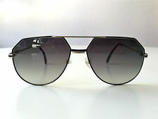 vintage CAZAL 724 col 302 black silver W.Germany rare sunglasses LARGE 901 951