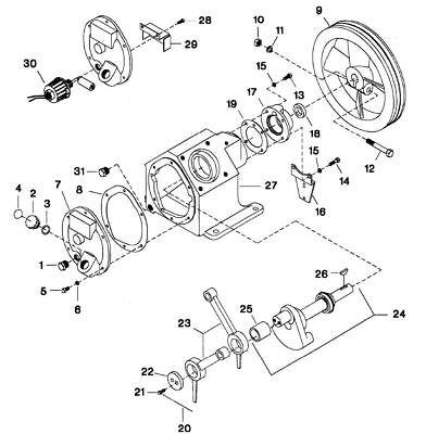 242 Crankshaft Assembly Bearing 32146052 Refer 24inpic Ingersoll Rand Compatible EBay
