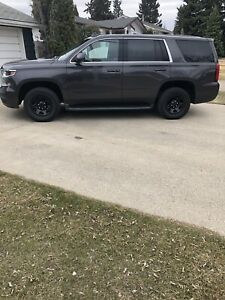 2015 CHEVROLET TAHOE 4x4 PPV EX POLICE UNIT IN EXC CONDITION!!