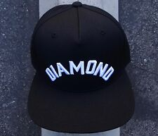 New Diamond Supply Co. Skateboard Arch Black Mens Snapback Hat One size Fit