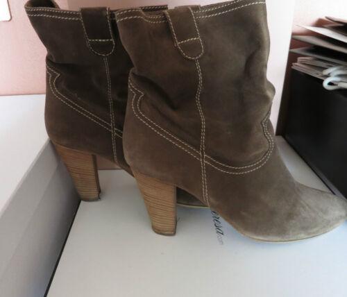 Mit Stiefelette 41 Ancle Wildleder Top RechGr Np Casual vic Boots 189€ Matie zjGMpLqUVS
