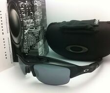 f652733b5e4 Authentic Oakley Sunglasses FLAK JACKET 03-881 Black with Black Iridium  Lenses