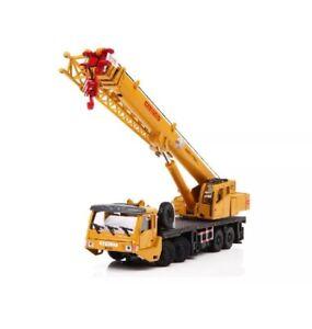 1:50 Diecast Metal Construction Vehicle Model Toy Crawling Crane Truck Replica