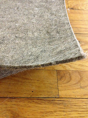 SUPREME 32(TM) 100% Recycled Felt Area Rug Pad for Hardwood Floors