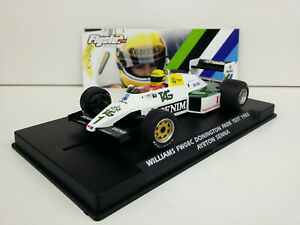 Slot-car-Scalextric-Flyslot-W40101-Williams-FW08C-Donington-Park-1983-A-Senna
