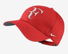 New Nike RF Roger Federer Hat Cap  Tennis  Dri Fit CRIMSON 371202 -696