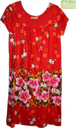 DEADSTOCK Vintage 50s 60s Ui-Maikai Hawaiian Dress