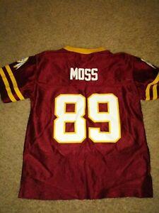 Details about NFL-SANTANA MOSS-WASHINGTON REDSKINS -KIDS LARGE-JERSEY- #89