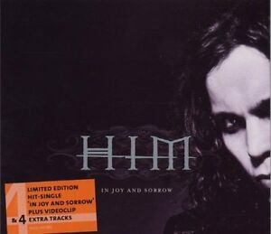 HIM-In-joy-and-sorrow-Ltd-Edition-5-tracks-video-2001-Maxi-CD
