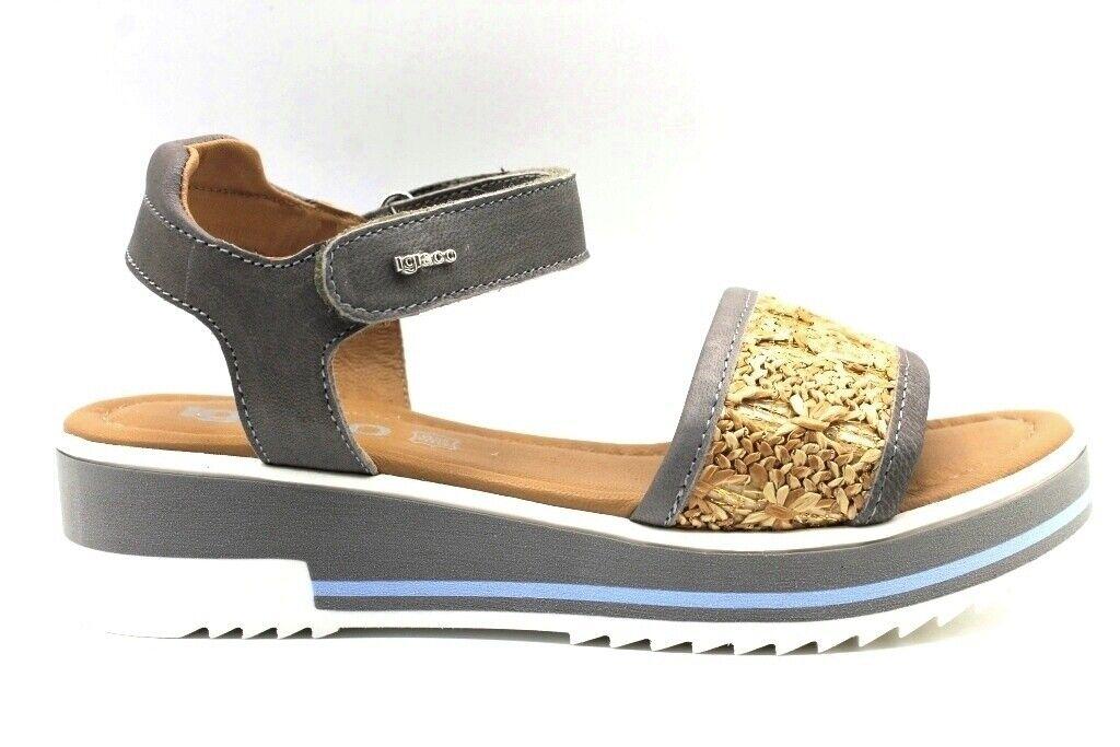 IGI &G Co 3191811 Scarpe grigie Comfortable Sandals Low Woman   consegna gratuita