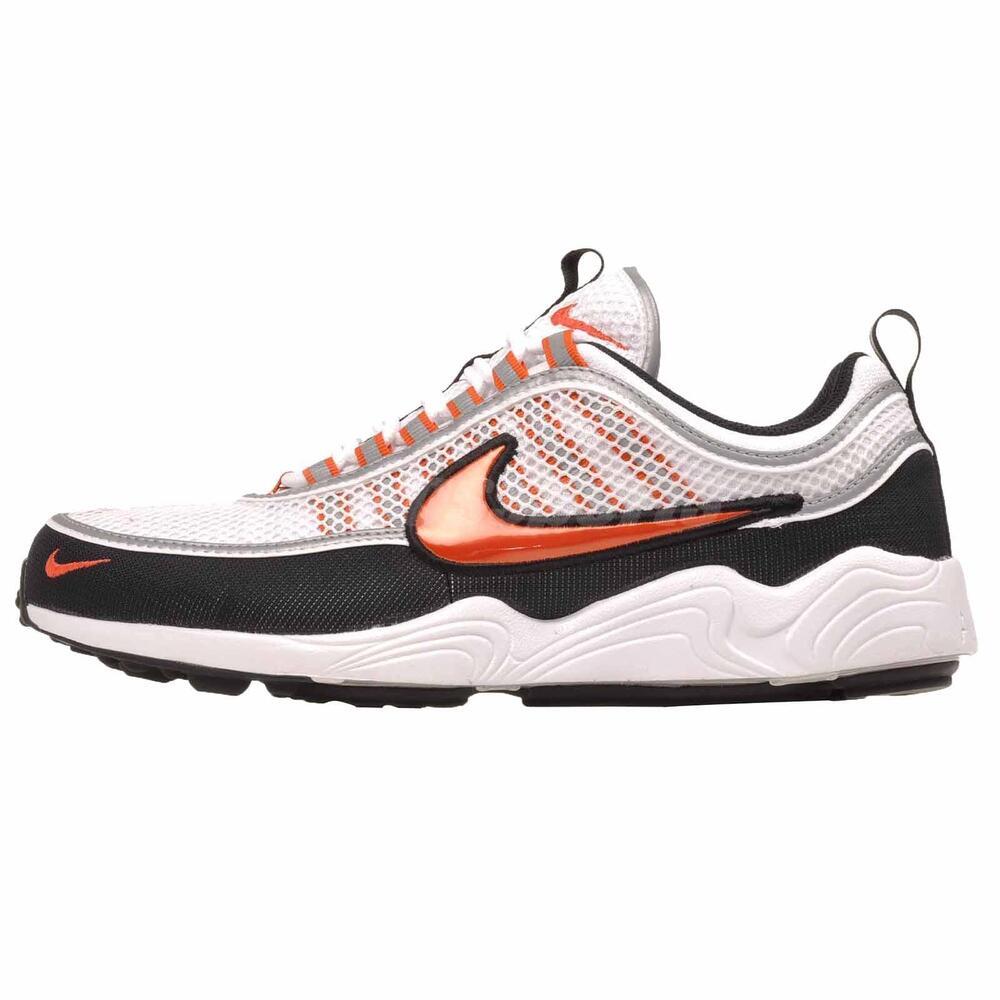 Nike Air Zoom Spiridon 16 fonctionnement homme chaussures blanc Team Orange 926955-106