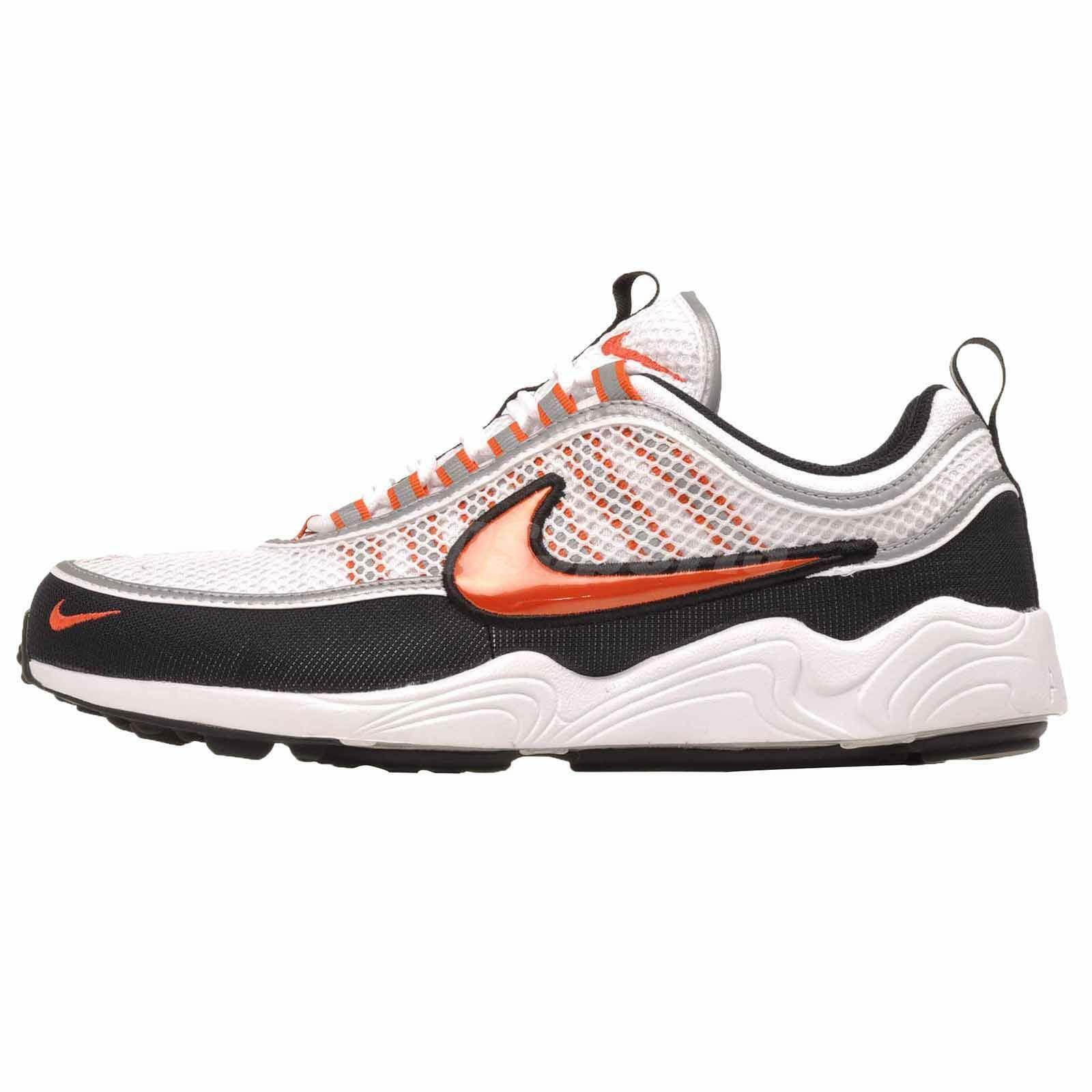9ec4ee7ee69ba Nike Air Zoom Spiridon 16 Running Mens Shoes White White White Team Orange  926955-106 5b2c68