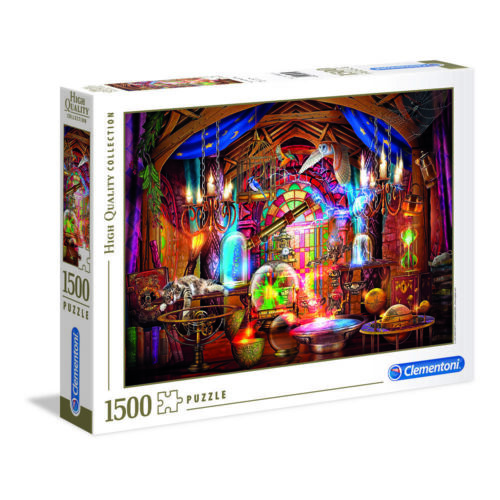 X15858 GIODICART PUZZLE 1500 PZ HQC WIZARDS WORKSHOP HIGH QUALITY COLLECTION
