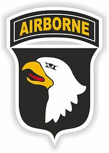 Image is loading 101st-Airborne-Division-sticker-logo-Bumper-decal-us-