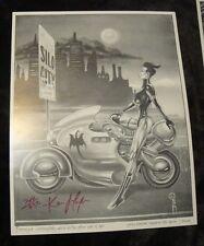 Kevin J Taylor Fang Vampire Chaser Portfolio Signed 1994 The Girl SMOKING HOT!!