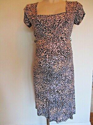 Mamalicious Maternity Nursing Sarah Lee Black Print Tea Dress Size 8 10 12 14 16 Eine VollstäNdige Palette Von Spezifikationen