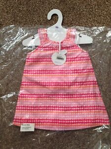 a2c23f7e363c baby girl dress   Knickers 12-18 months Designer Bonnie Baby Pink ...