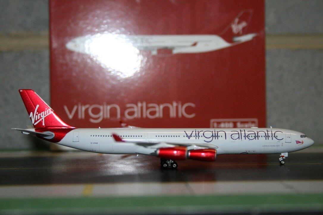 Phoenix 1 400 Virgin Atlantic Airbus A340-300 G-VFAR (PH4VIR1372) Die-Cast Model