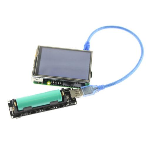 18650 Battery Shield V3 For Raspberry Pi WEMOS Micro USB Type-A Output Diy Kit