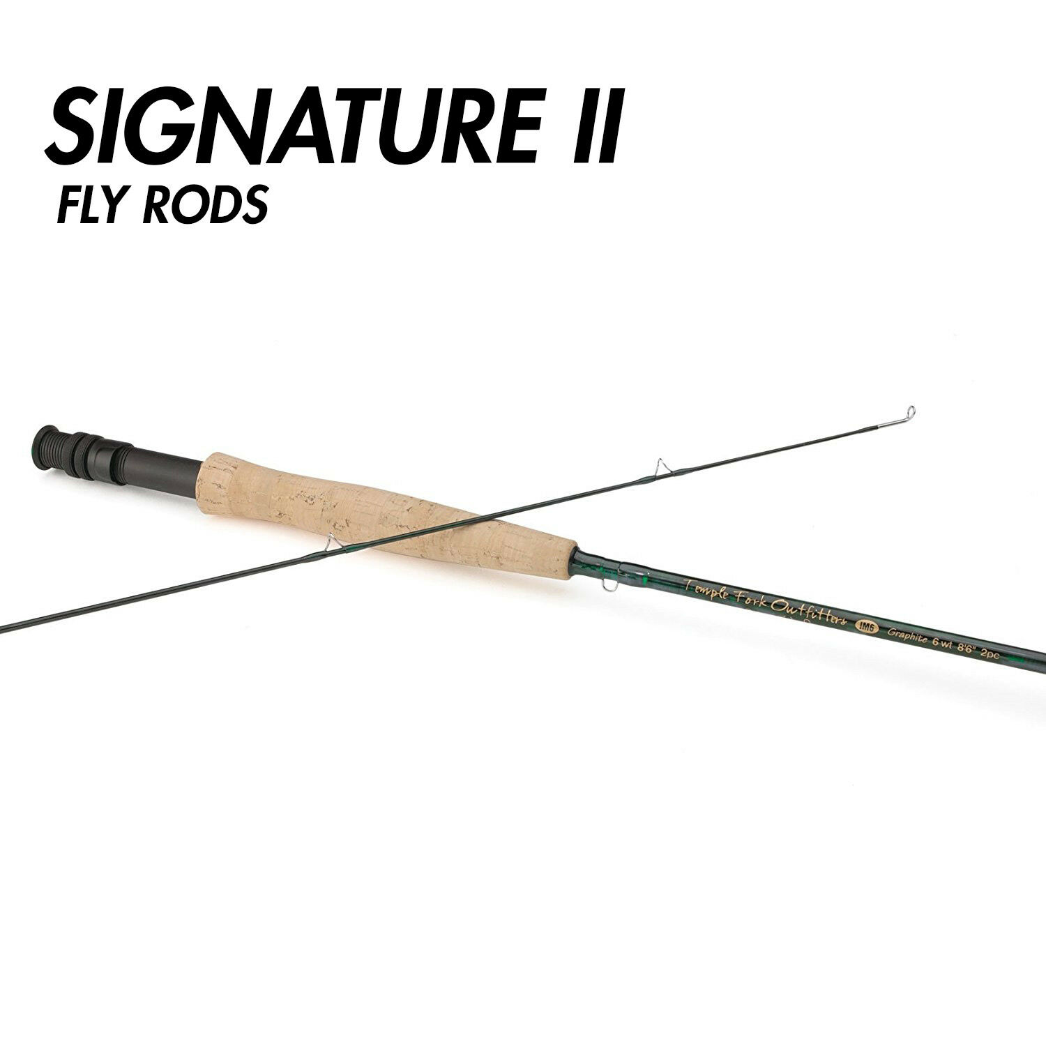 NEW  TFO Signature II 5wt 9'0 Fly Rod 2PC