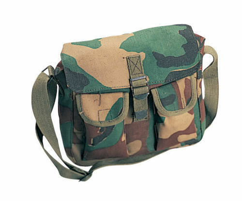 Ammo Shoulder Bag Tote Canvas Heavy Weight Military Rothco