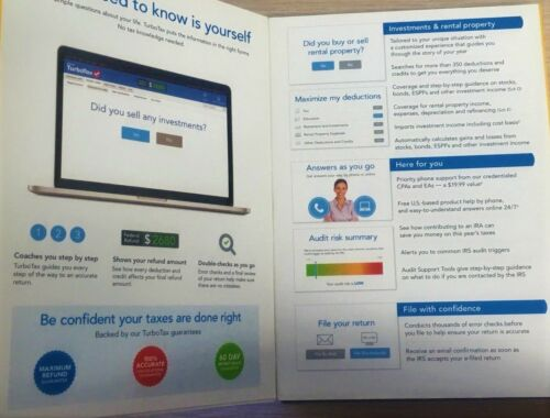 TurboTax 2014 Premier Federal /& State Investment /& Rentals Upgrade From DELUXE