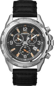 Timex-Expedition-Orologio-Rugged-t49985-Uomo-Cronografo-100m-IMPERMEABILE-LUCE