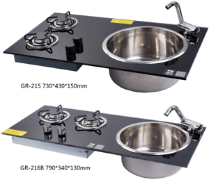 Lpg Gas Stove Hob And Sink Combo