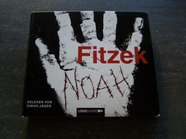 !! NOAH - FITZEK HÖR. CD's - GELESEN VON SIMON JÄGER  ( SIEHE BILDER ) !!