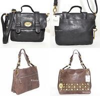 FOSSIL Damen Leder Tasche Handtasche Schultertasche