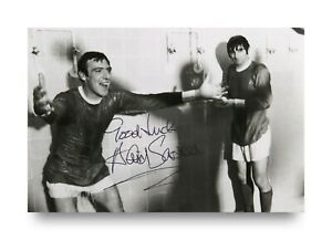 David-Sadler-Signed-6x4-Photo-Manchester-United-England-Genuine-Autograph-COA
