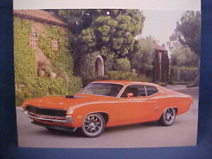 New Ford Torino >> Details About 1970 Ford Torino Gt Brand New Ez Frame 70 Photo From Nos Calendar Very Nice