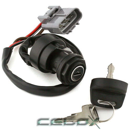 IGNITION SWITCH KEY for YAMAHA BIG BEAR 400 YFM400 4x4 HUNTER 2010 2011 2012